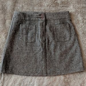 American Eagle Grey/Brown Wool Blend Mini